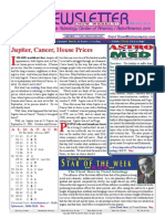ASTROAMERICA NEWSLETTER DATED AUGUST 27, 2013