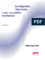 A Scalable, Reconfigurable and Efficient Data Center Power Distribution Architecture