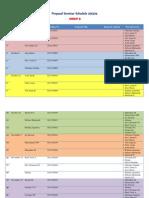 Seminar Schedule 2013/14 (Group B)