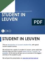 Student in Leuven