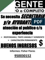 URGENTE  SECRETARIA PARA POSTES Y AVISO.pptx