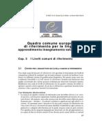 Dal Framework Europeo