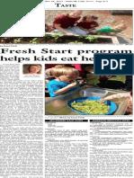 Fresh Start programs help kids eat healthier