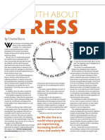 The Truth About Stress Rapport Magazine