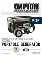 Champion 4000 Watt 46551_manual-English