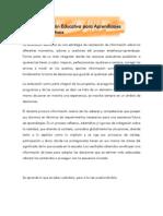 Evaluación Educativa para Ap. Sgvos.