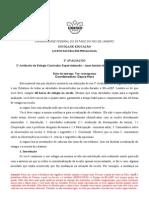 segunda avaliação 2012-2(1)