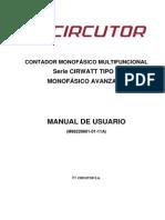 Circutor CIRWATT-B-200 User Manual