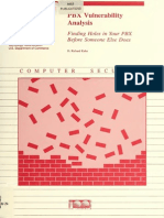 Sp800 24pbx PBX Vulnerability Analysis
