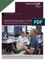 Teacher Evaluation in Practice