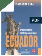 Breve Historia Contemporánea del Ecuador