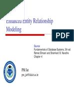Enhanced ER Modeling
