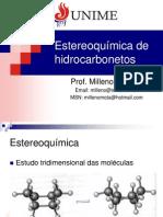 06 - Estereoquímica de hidrocarbonetos