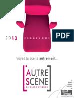 l'Autre Scene Programme 2013 2014