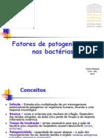 07 Factores de Patogenicidade Nas Bacterias 2012.13