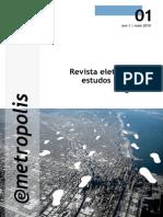 Revista Eletrônico de Estudos Urbanos e Regionais - 05_2010 - 01