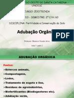 Aula 7-2 - Adubação Orgânica