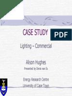 Casestudy Lighting
