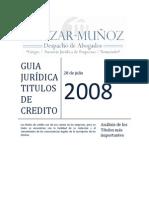 Guia Juridica Titulos de Cr Dito d. MERCANTIL