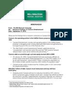 Bill Walczak's report on the finances of Caesars Entertainment