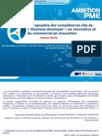 Cartographie Des Comptences Cls Du Business Developer en Innovation Et Du Commercial en Innovation Version Finale