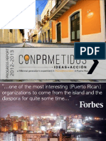 conPRmetidos' 2012-2013 Progress Report