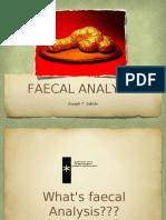 Faecal Analysis