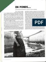 Last Magazine - On Garden Ponds - Helene Guldberg - Summer 2000