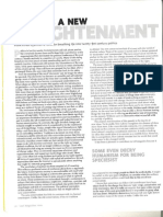 Last Magazine - Towards a New Enlightenment - Frank Furedi - Summer 2000