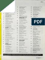 Last Magazine Contents Summer 2000