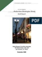 City of Pasadena (CA) Traffic Reduction Strategies (2006)