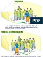 Gambar / Illustrasi Tatacara Sholat Jamaah 01