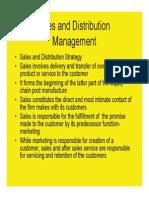 81554448 Sales and DistributionSales and distribution