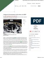 18-09-13 Colegio de Economistas avala cobrar a la BMV - Grupo Milenio