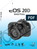 Canon 20D Advanced Guide