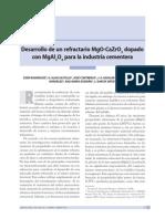 Dialnet-DesarrolloDeUnRefractarioMgOCaZrO3DopadoConMgAl2O4-3401833