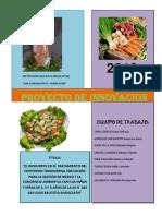 Proyecto de Innovación Biohuerto 2012 - I.E.I. N° 282 San juan Bautista