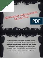 Principales Aplicaciones de Las TICS 1