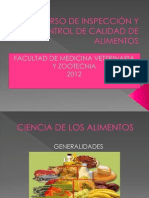 CURSO DE INSPECCIÓN Y CONTROL DE CALIDAD DE.pptx CIENCIA DE LOS ALIMENTOS (1)