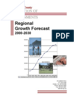 2002 Regional Growth Forecast 2000 2030
