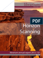 Librarium Associates Horizon Scanning 2013 Q1