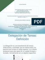 Delegacion de Tareas