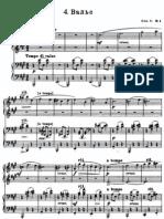 rachmaninov  valse four hands