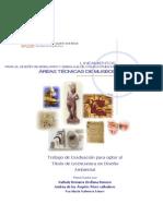 LINEAMIENTOS PARA EL DISEÑO DE MOBILIARIO Y EMBALAJE DE COLECCIONES EN ÁREAS TÉCNICAS DE MUSEOS