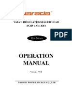 EOS Batteries User Manual