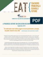 September 2013 Progress Report