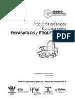 Manual de Prod Organicos. Envasado y Etiquetado