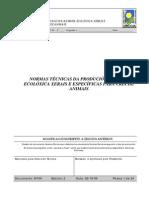 GANADERIA ECOLOGICA - CRAEGA - Legislacion NormasProducionAnimal