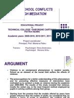 Solving School Conflicts Through Mediation1
