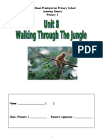 Unit 8- Walking Through the Jungle (Learning Sheets)